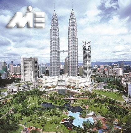 برج های دوقلو پتروناس | جاذبه های گردشگری مالزی | ویزای توریستی مالزی