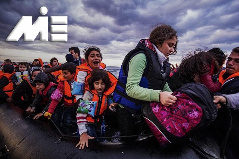 مهاجرت از طریق پناهندگی | خطرات پناهندگی | پناهندگی به خارج از کشور