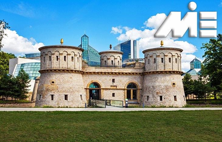 موزه ملی هنر و تاریخ لوکزامبورگ   جاذبه های گردشگری لوکزامبورگ   ویزای توریستی لوکزامبورگ