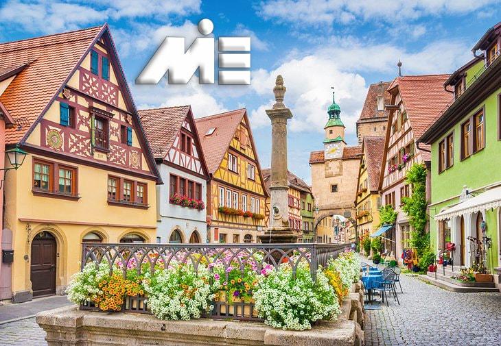 روتنبورگ قرون وسطایی | جاذبه های گردشگری آلمان | ویزای توریستی آلمان