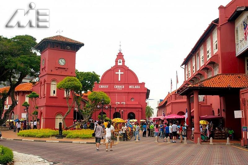 شهر تاریخی مالاکا | جاذبه های گردشگری مالزی | ویزای توریستی مالزی