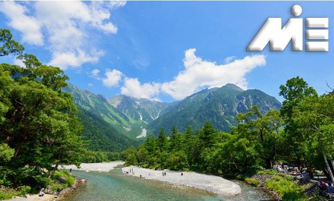 پارک ملی چوبو سانگاکو و آلپ ژاپنی | جاذبه های گردشگری ژاپن | ویزای توریستی ژاپن