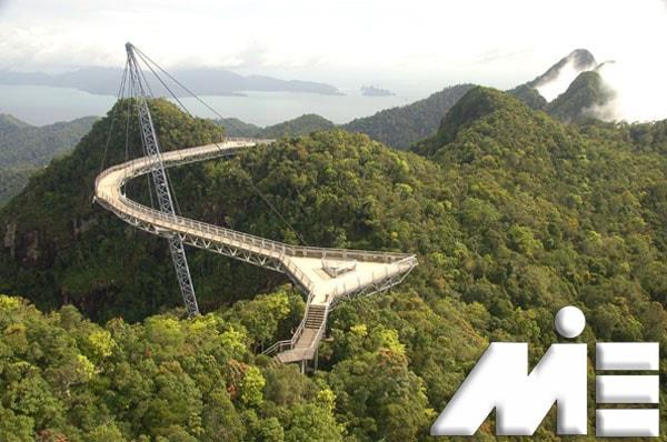 پل آسمان در مالزی | جاذبه های گردشگری مالزی | ویزای توریستی مالزی
