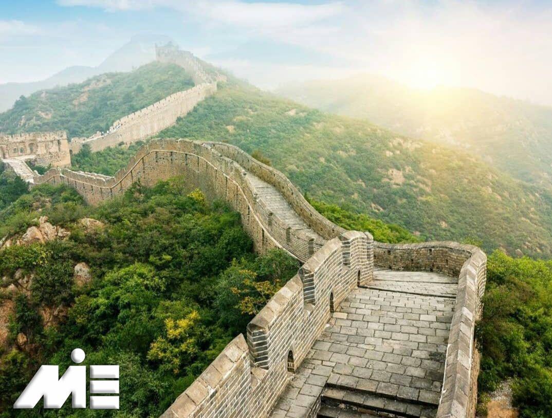 دیوار بزرگ چین | جاذبه های گردشگری چین | ویزای توریستی چین