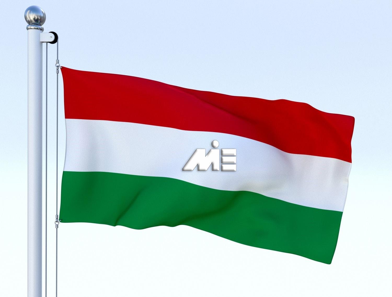 مجارستان ـ پرچم مجارستان ـ مهاجرت به مجارستان