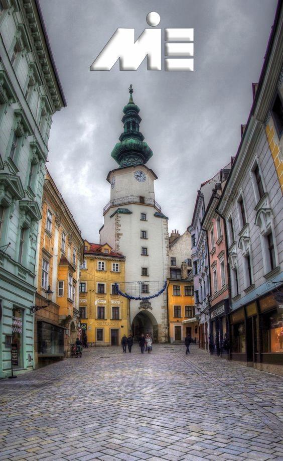 دروازه مایکل ذر اسلواکی ـ جاذبه های گردشگری اسلواکی ـ ویزای توریستی اسلواکی