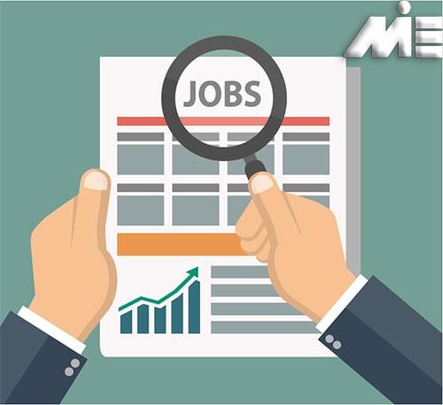 کاریابی در خارج از کشور | جستجوی کار در خارج | لیست مشاغل مورد نیاز کشورها