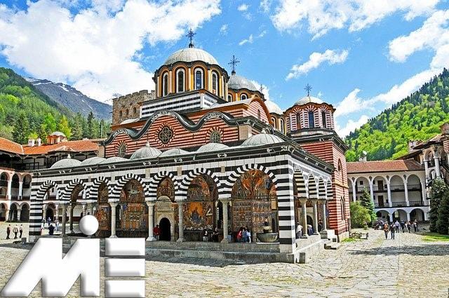 صومعه ریلا ـ جاذبه جاذبه های گردشگری بلغارستان ـ ویزای توریستی بلغارستان