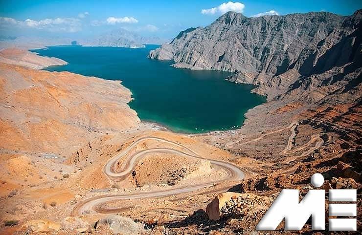 شبه جزیره مسَندَم | جاذبه های گردشگری عمان | ویزای توریستی عمان
