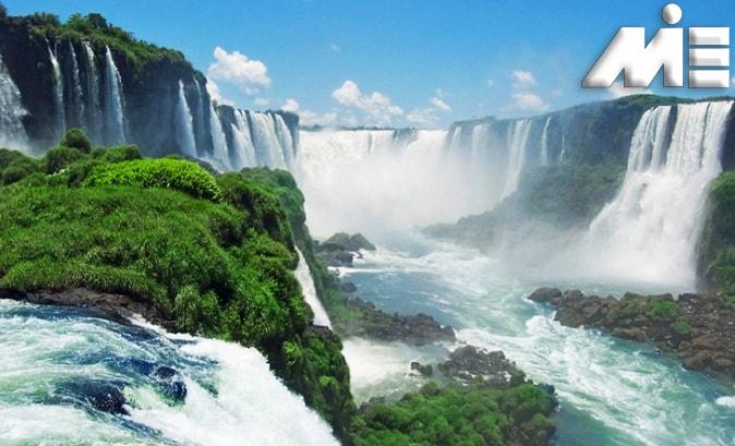 آبشار ایگواسو در آرژانتین   جاذبه های گردشگری آرژانتین   ویزای توریستی آرژانتین