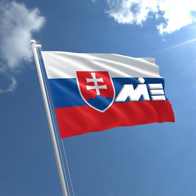 پرچم اسلوکی ـ مهاجرت به اسلواکی