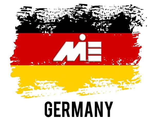 پرچم آلمان | مهاجرت به آلمان | پاسپورت آلمان | ویزای آلمان
