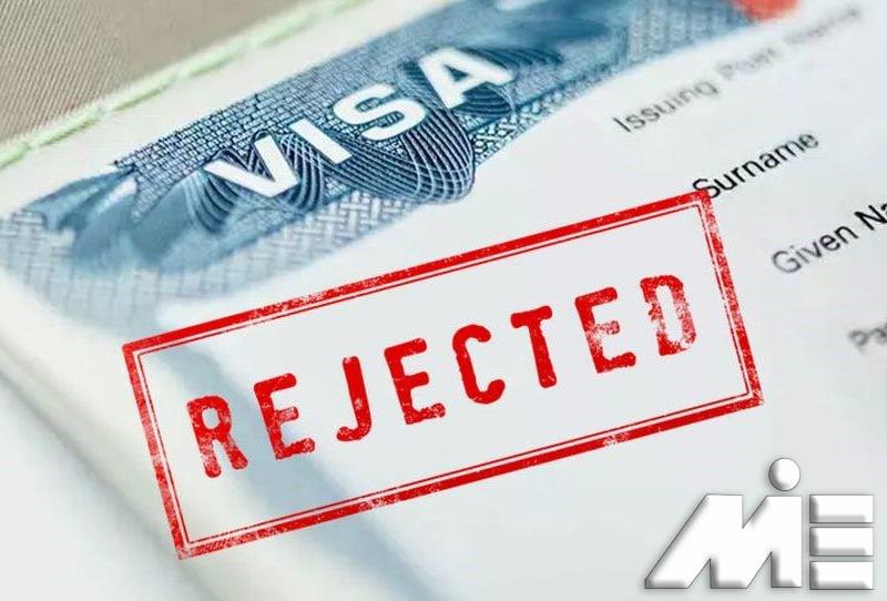 ریجکتی ویزا | Rejected Visa