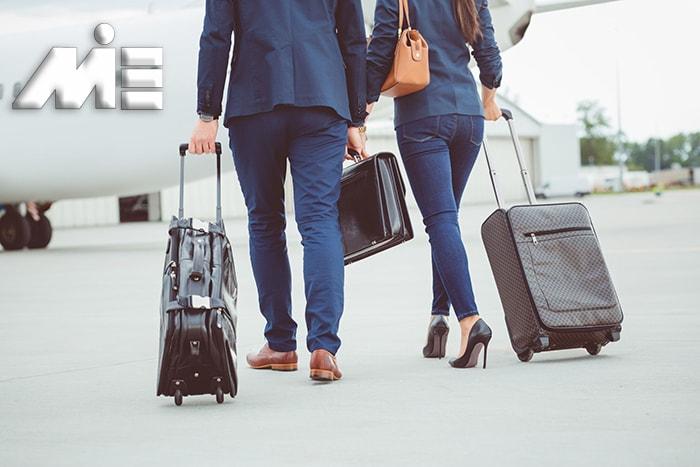 مهاجرت با اخذ ویزای همراه ـ مهاجرت با خانواده ـ ویزای همراه