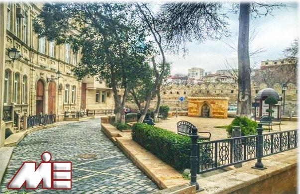 icherisheher شهر ایچری | جادبه های گردشگری آذربایجان | ویزای توریستی آذربایجان