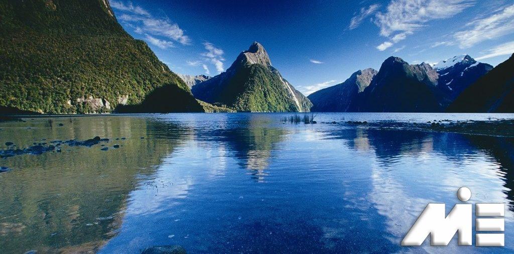 Milford Sound - جاذبه های گردشگری نیوزلند - ویزای توریستی نیوزلند