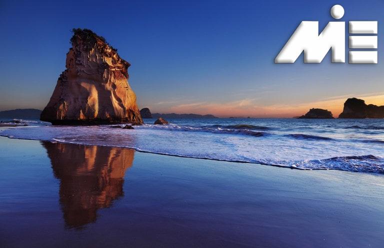 شبه جزیره کورومدل - جاذبه های گردشگری نیوزلند - ویزای توریستی نیوزلند