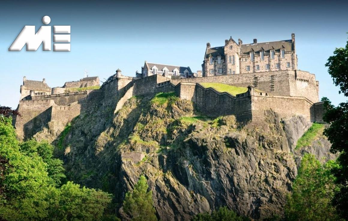 دژ ادینبورگ - جاذبه های گردشگری اسکاتلند - ویزای توریستی اسکاتلند