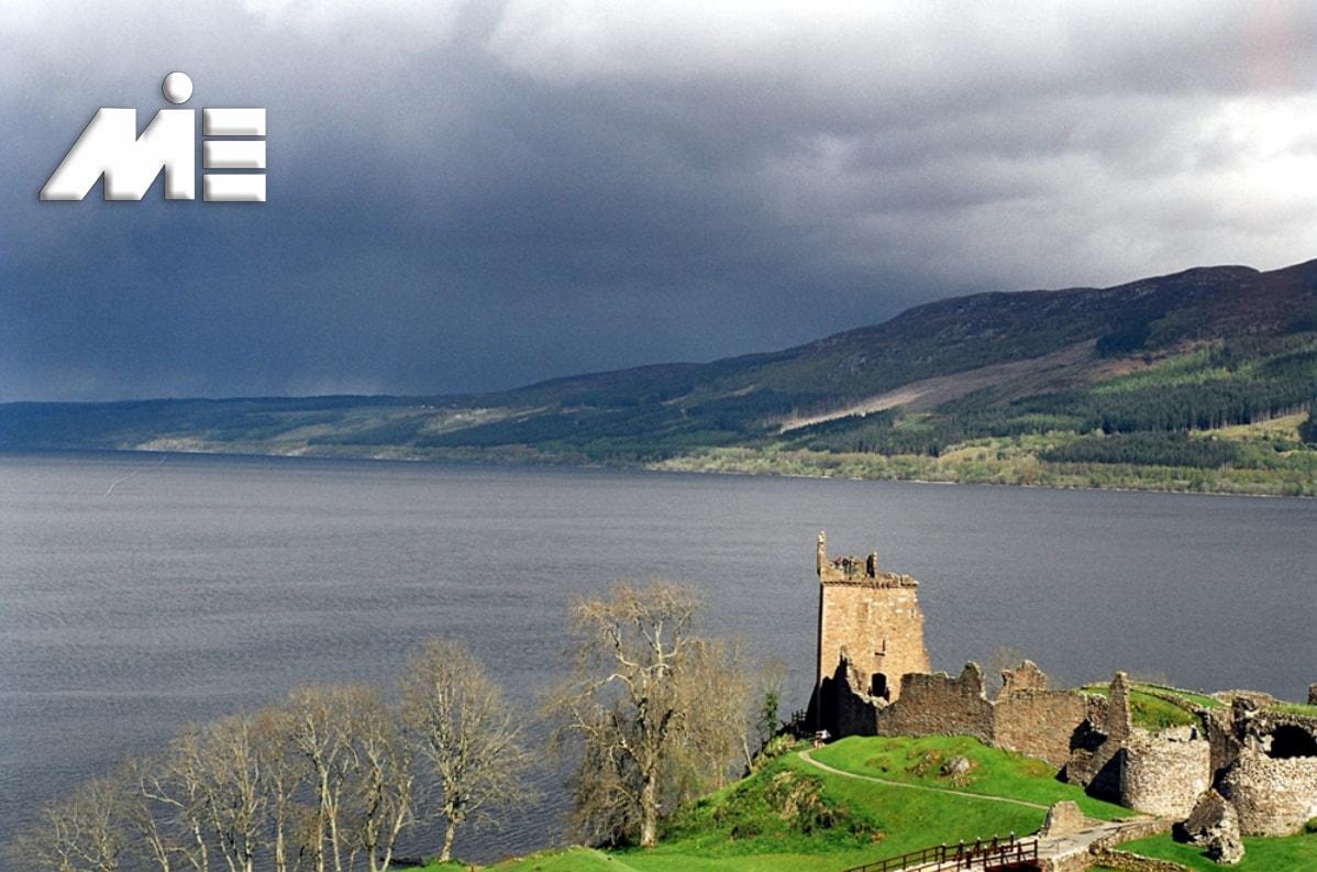 دریاچه لخ انس در اسکاتلند - جاذبه های گردشگری اسکاتلند - ویزای توریستی اسکاتلند