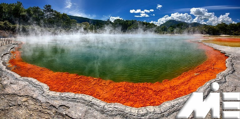 وای او تپو - جاذبه های گردشگری نیوزلند - ویزای توریستی نیوزلند
