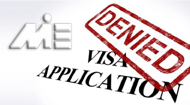 ریجکتی ویزا - ٰVisa Application Denied
