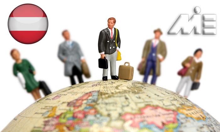 اخذ اقامت اتریش از طریق کار - کار در اتریش - مهاجرت کاری به اتریش
