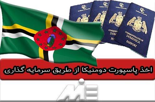 اخذ پاسپورت دومنیکا از طریق سرمایه گذاری