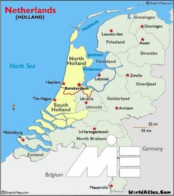 هزینه های تحصیل در هلند و شرایط عمومی آن