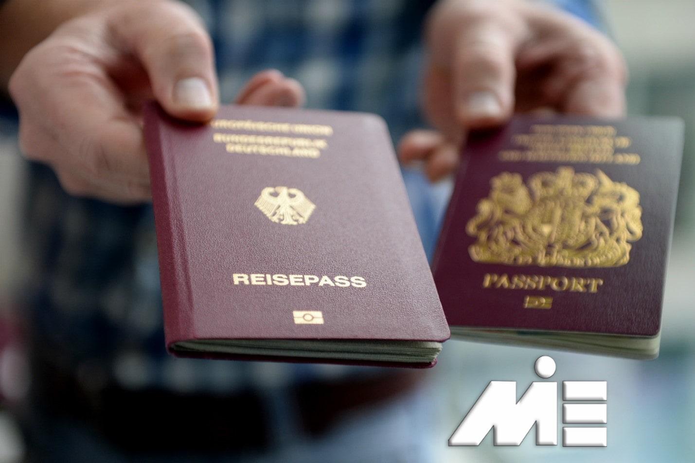پاسپورت و اقامت کشورهای خارجی