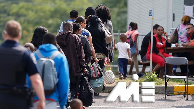 پناهندگی به خارج از کشور - مهاجرت از طریق پناهندگی - مراحل درخواست پناهندگی