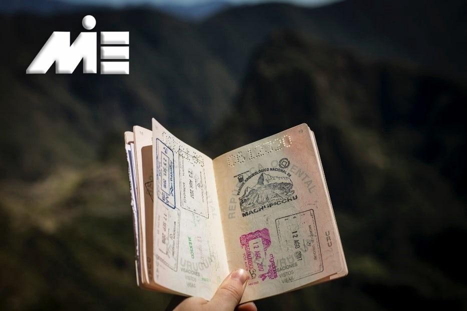 اخذ پاسپورت و تابعیت مضاعف - پاسپورت کشورهای خارجی