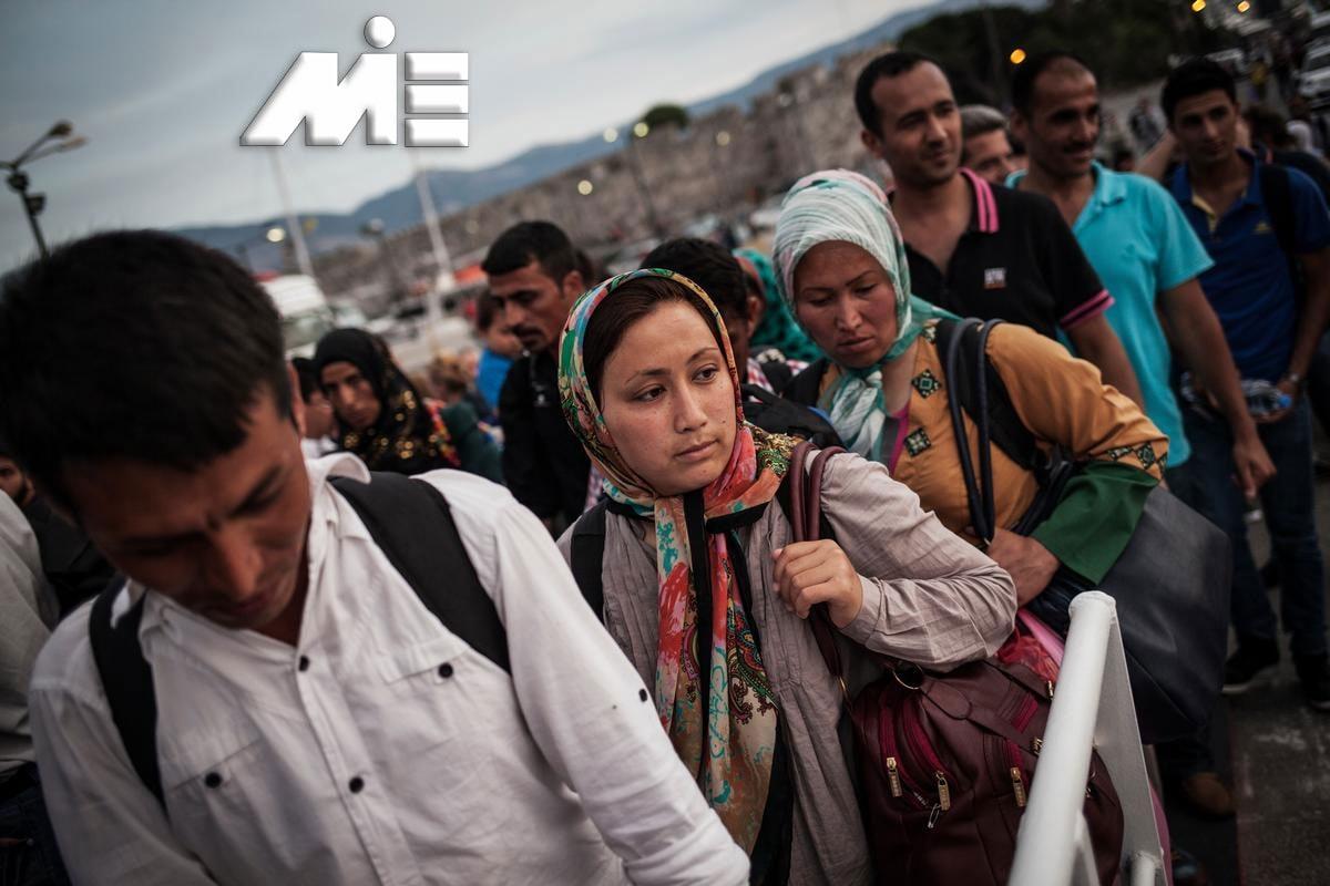 پناهندگی به خارج - مهاجرت از طریق پناهندگی