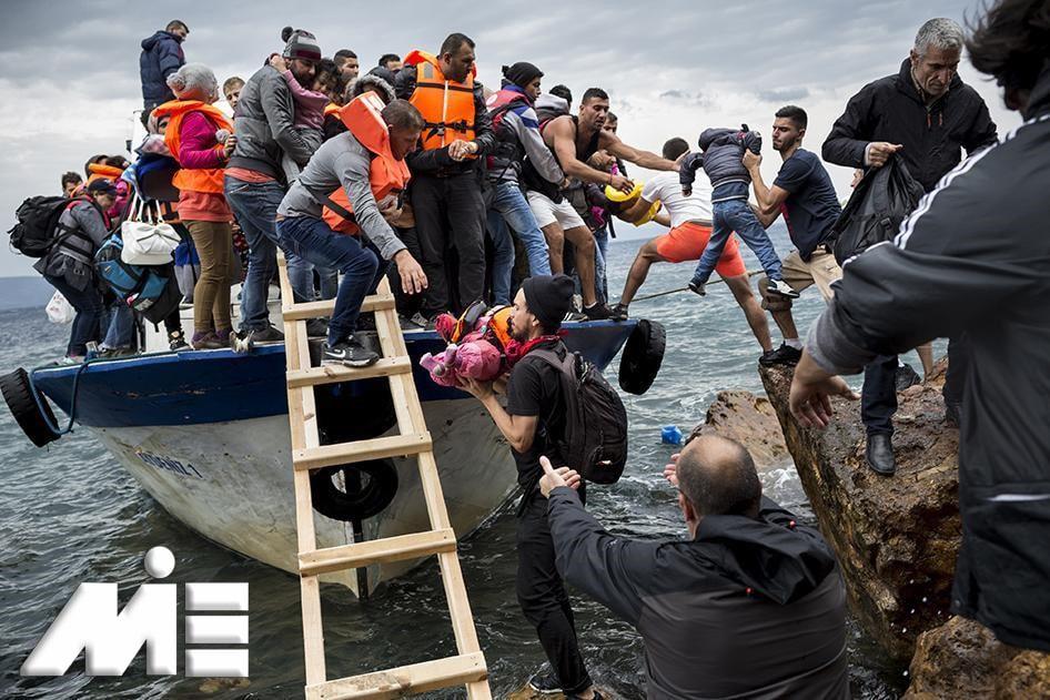 پناهندگی به خارج از کشور - اخذ اقامت از طریق پناهندگی