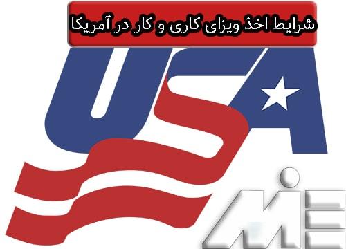 شرایط اخذ ویزای کاری و کار در آمریکا - مهاجرت کاری به آمریکا