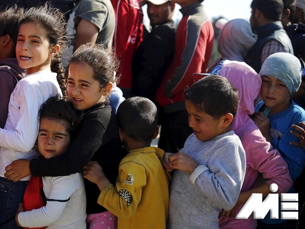 اخذ اقامت و تابعیت از طریق پناهندگی - پناهندگی به خارج از کشور
