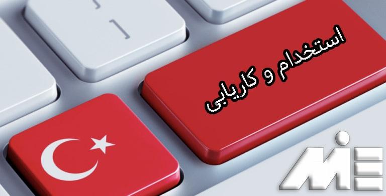 کار در ترکیه - استخدام و کاریابی در ترکیه - موسسات کاریابی در ترکیه - سایت های کاریابی در ترکیه