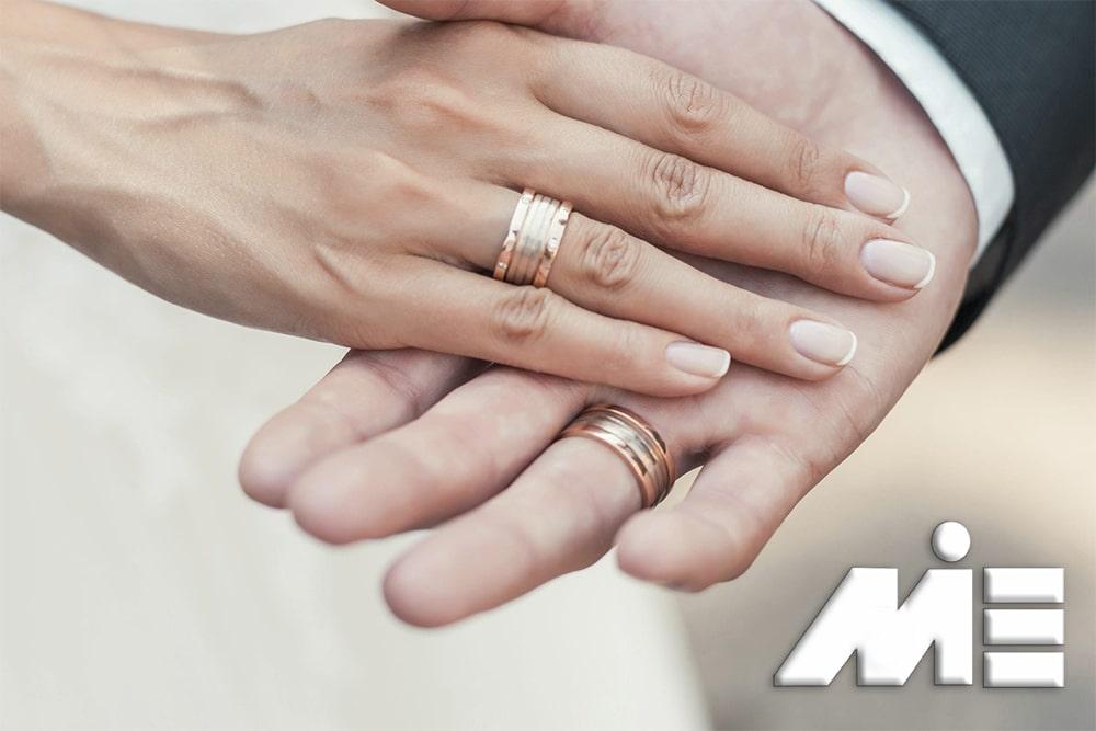 ازدواج با خارجی - اخذ اقامت و تابعیت از طریق ازدواج