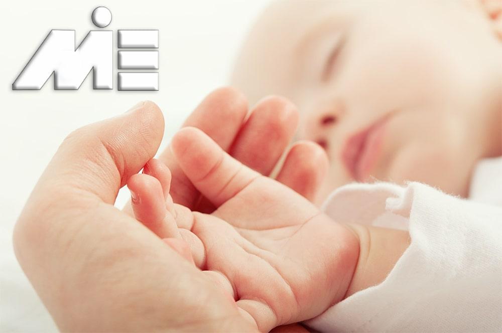 تولد در خارج از کشور - اخذ اقامت و تابعیت از طریق تولد