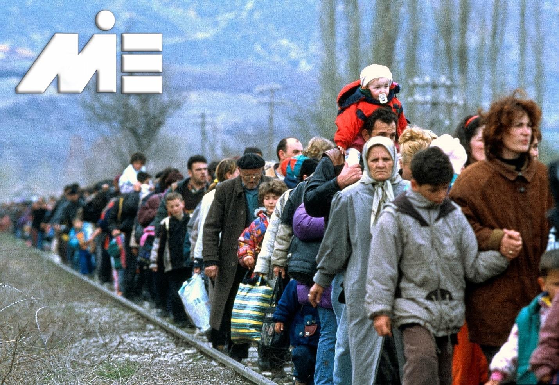 مهاجرت از طریق پناهندگی - پناهندگی به خارج از کشور