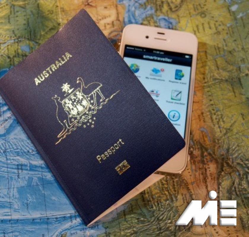 پاسپورت استرالیا - تابعیت استرالیا - شهروندی استرالیا - اقامت دائم استرالیا