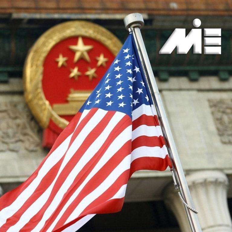 پرچم آمریکا - اقامت آمریکا - مهاجرت به آمریکا - سرمایه گذاری در آمریکا - کار در آمریکا - شهروندی آمریکا
