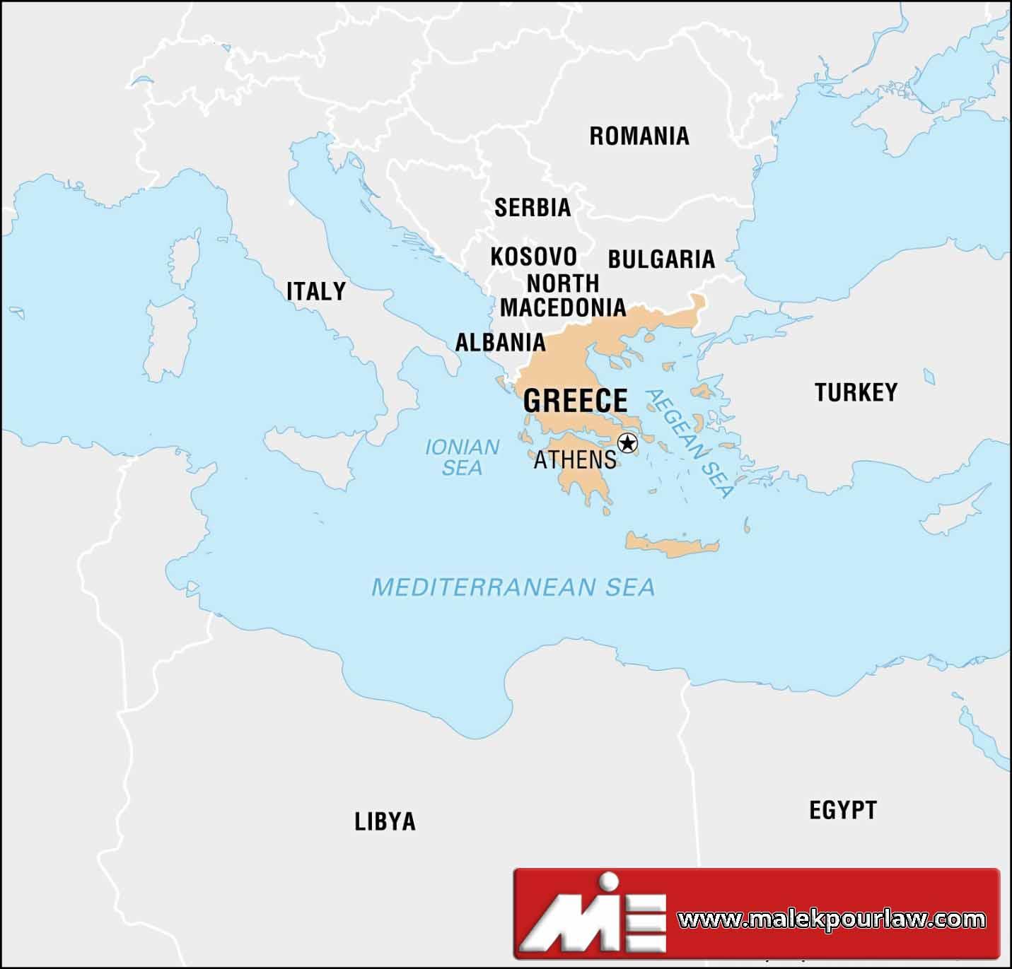 مهاجرت به یونان - روش های مهاجرت به یونان