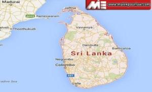 نقشه کشور سری لانکا
