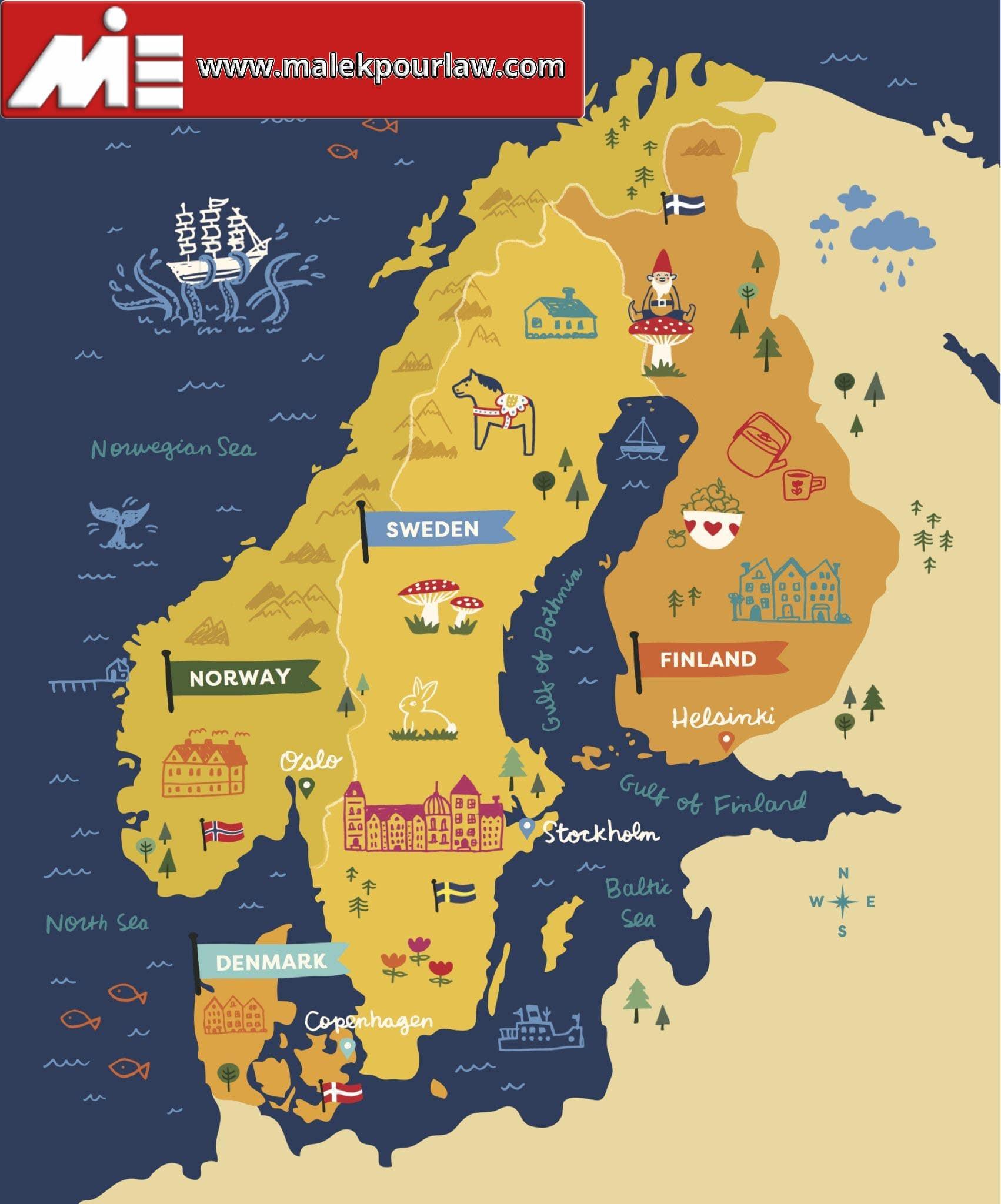 کشور های اسکاندیناوی - شبه جزیره اسکاندیناوی