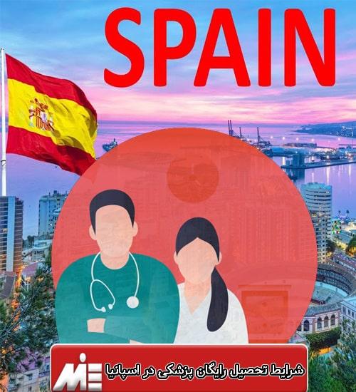 شرایط تحصیل رایگان پزشکی در اسپانیا