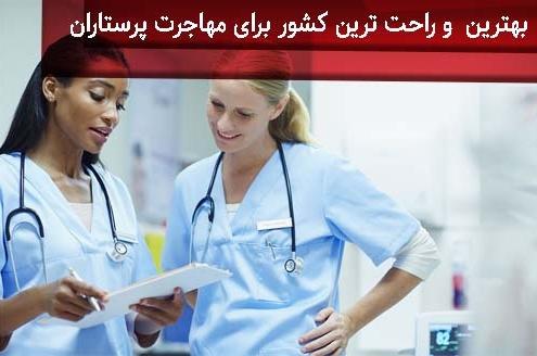 بهترین و راحت ترین کشور برای مهاجرت پرستاران