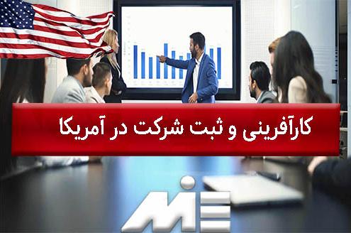 کارآفرینی و ثبت شرکت در آمریکا